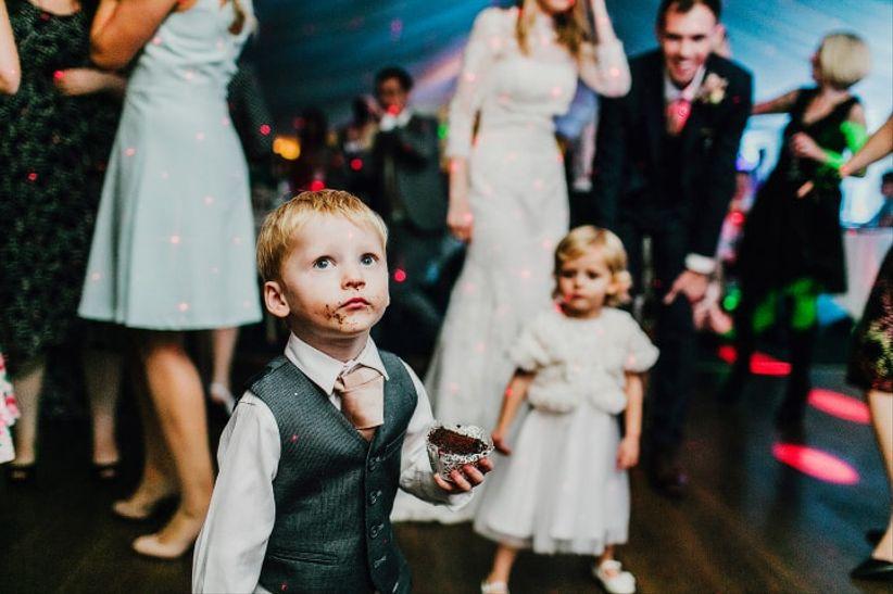 Kid-friendly wedding