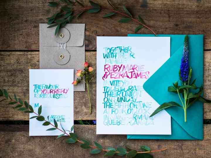 The 2019 Wedding Invitation Trends That You Need to Know About