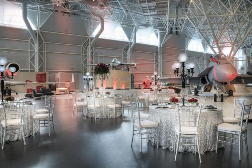 Canadian Aviation and Space Museum Wedding Venue