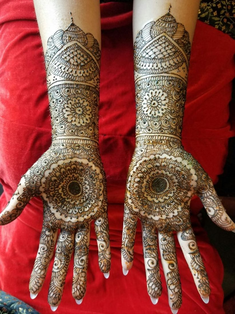 20 Stunning Mehndi Designs on Real Brides