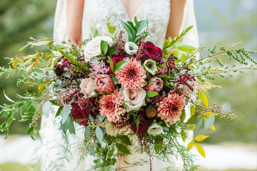 Lilac Lace Floral Design Choosing Your Wedding Flowers