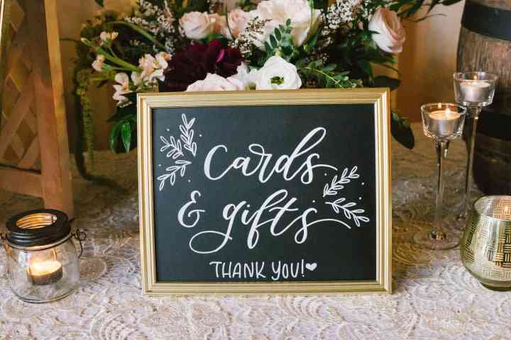 Dear North Designs - Wedding signage