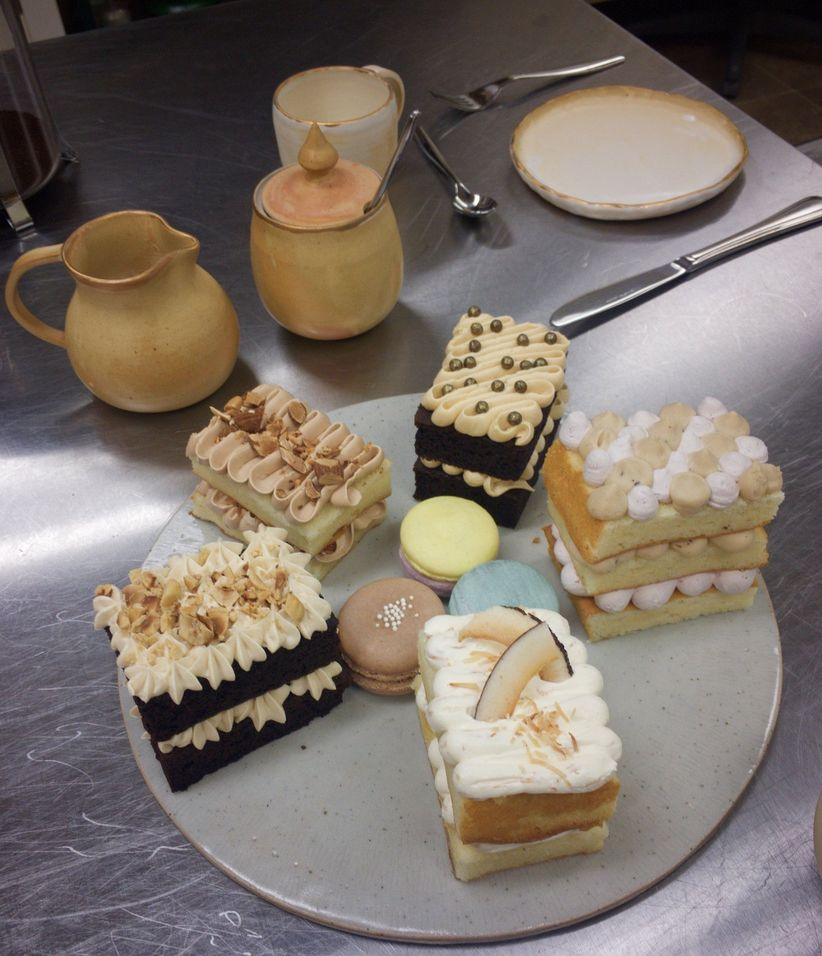 Lemonberry Pastries and Cakes