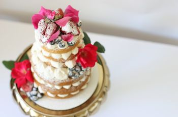 16 Naked Wedding Cake Styles We're Totally Obsessed With