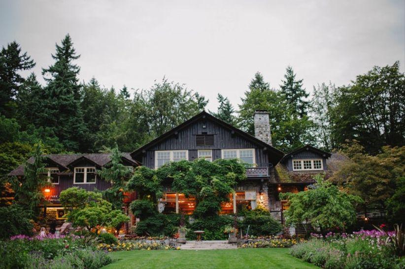 Stanley Park Pavilion - Vancouver garden wedding venue