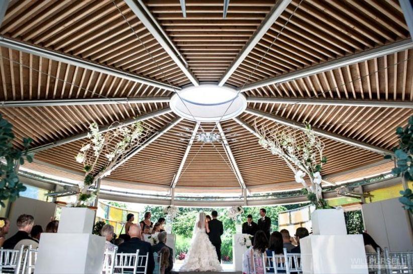 Queen Elizabeth Park Celebration Pavilion -Vancouver garden wedding venue