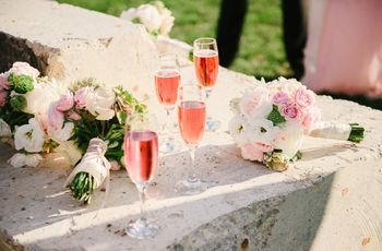 6 Champagne Cocktails Worth Serving at Your Wedding