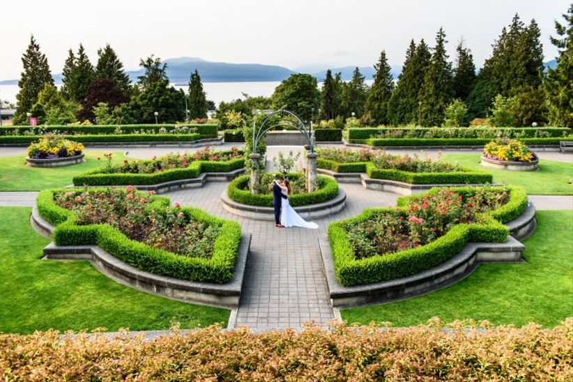 ... Garden Wedding Venues In Vancouver. Will Kwan Photography
