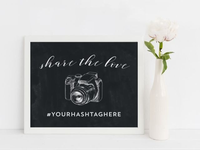 How to Create Your Wedding Hashtag