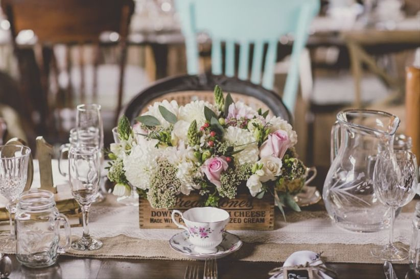 6 Vase Alternatives Worthy Of Your Rustic Wedding Centerpieces