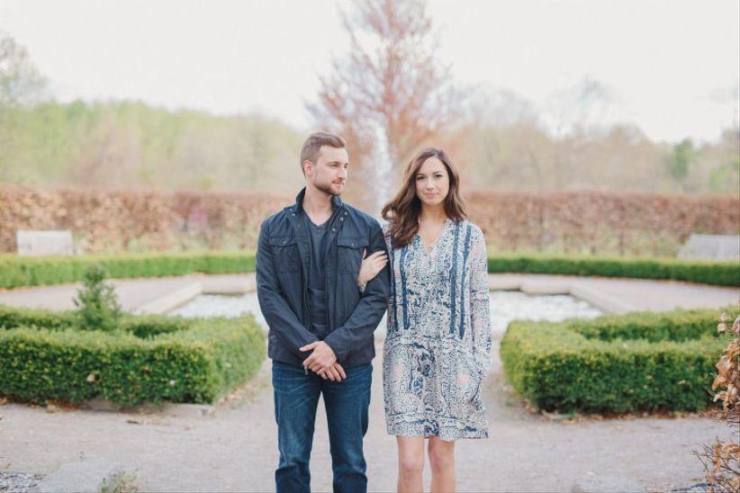 Engagement photo outfits - colour palette