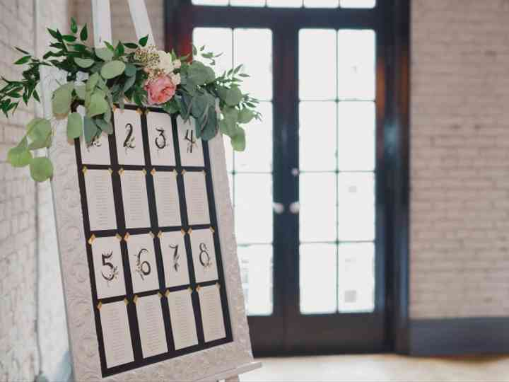 10 Wedding Seating Chart Ideas for Every Style of Celebration