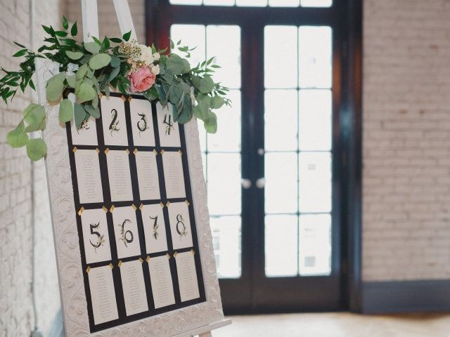 10 Creative Wedding Seating Chart Displays for Every Style of Celebration