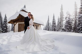 5 Tips for Choosing a Winter Wedding Dress