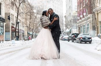 7 Super Cozy Winter Wedding Accessories to Complete Your Bridal Look