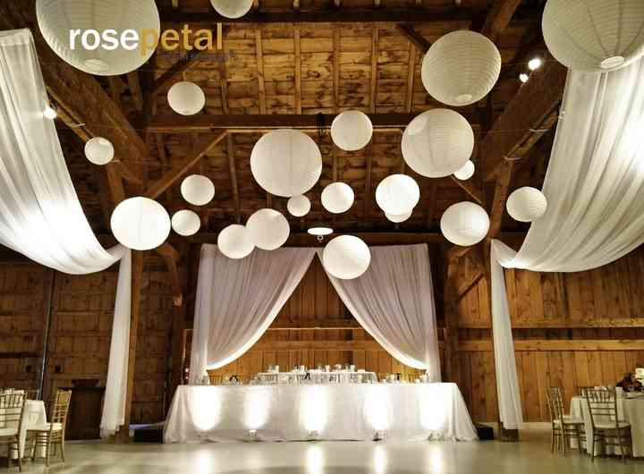 Rosepetal decor