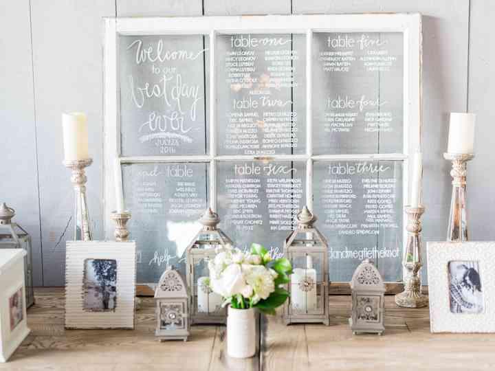 20 Unique Wedding Seating Chart Ideas