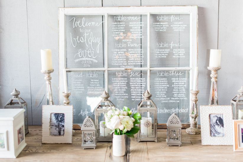 Cool Outdoor Wedding Venues Across Canada: 13 Unique Wedding Seating Chart Ideas