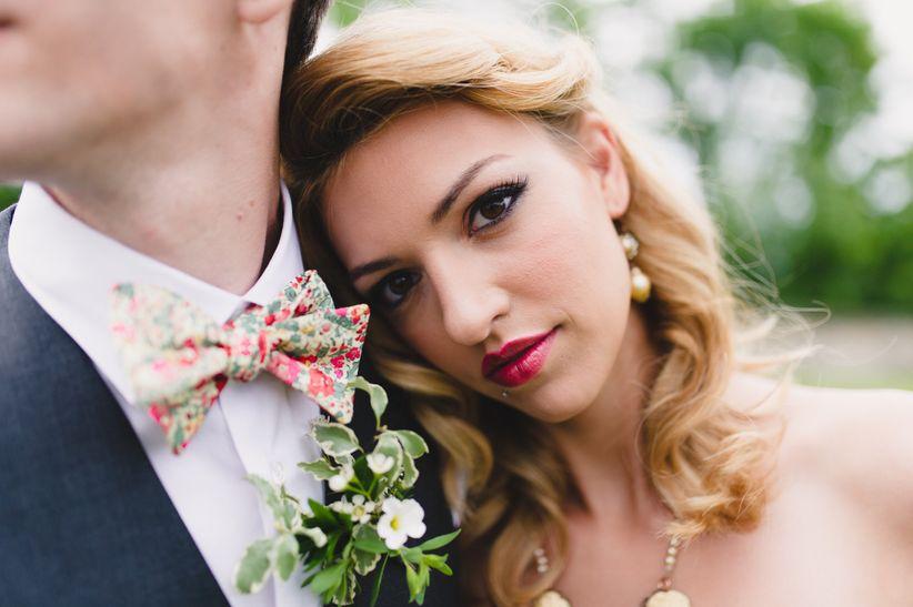 Summer wedding makeup