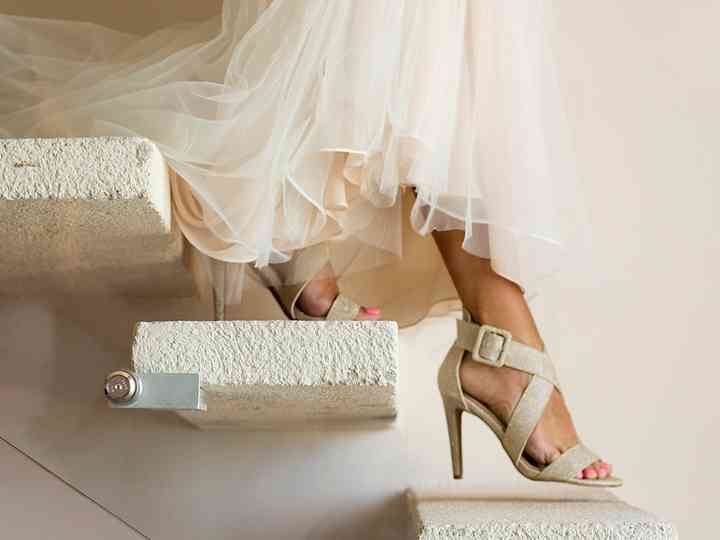 How to Transform Painful Heels into Comfortable Wedding Shoes