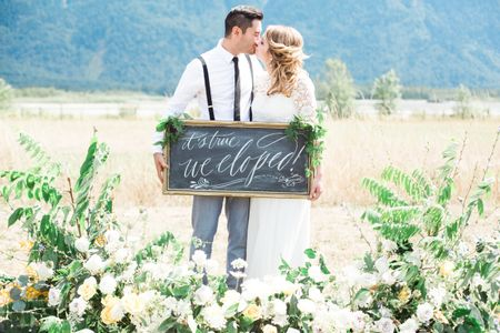 How to Tell Your Friends and Family You've Eloped