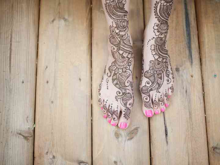 30 Stunning Mehndi Designs on Real Brides