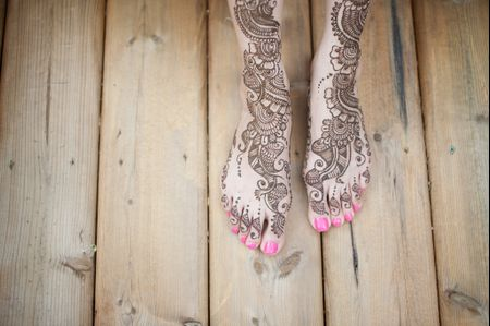 15 Stunning Mehndi Designs on Real Brides