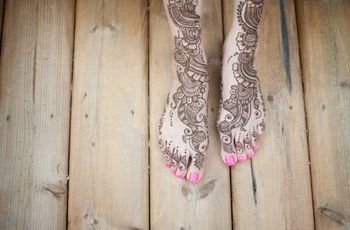20 Stunning Mehndi Designs on Real Brides