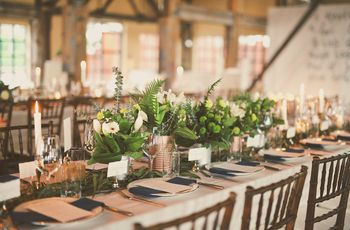 10 Rustic Chic Table Designs on Instagram to Steal for Your Wedding