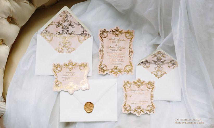 Elegantwedding invitation