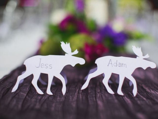 8 Creative Wedding Place Card Ideas