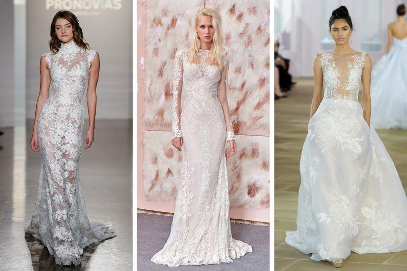 2017 Wedding Dress Trends : Wedding dress trends fw lace g