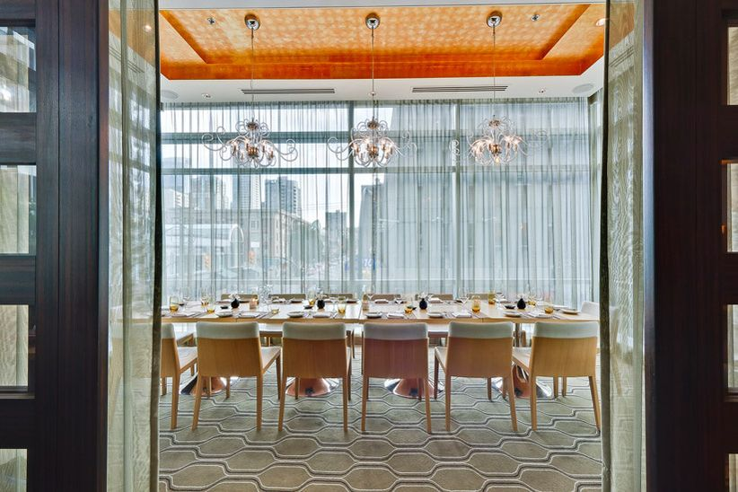 Coast Restaurant Vancouver Private Room