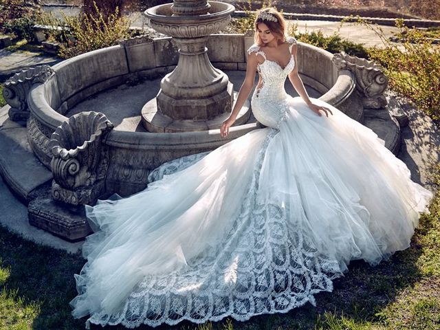 Your Guide to Wedding Train Styles