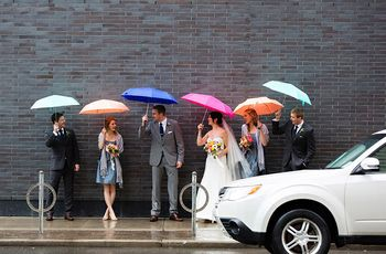 5 Tips to Prepare for Rain on Your Wedding Day