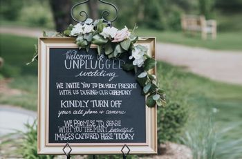 6 Tips for Having an Unplugged Wedding