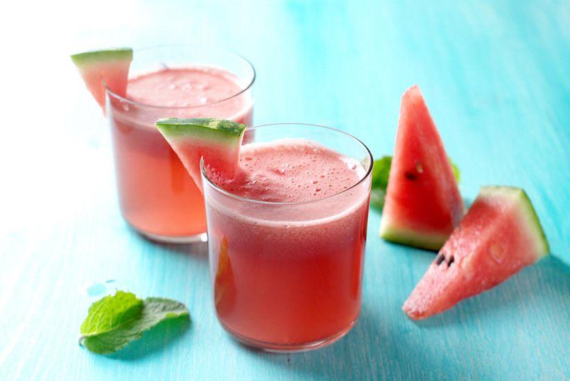 Watermelon cocktails