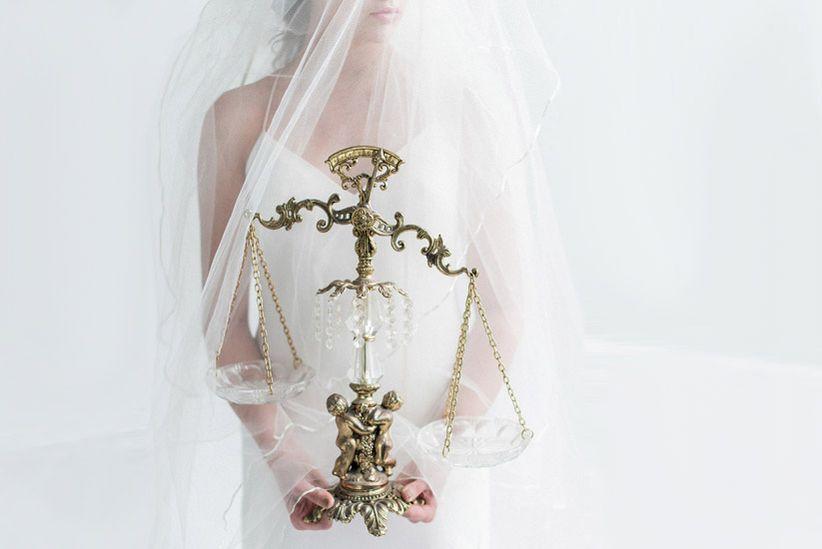 Bride Balancing Work and Wedding Planning