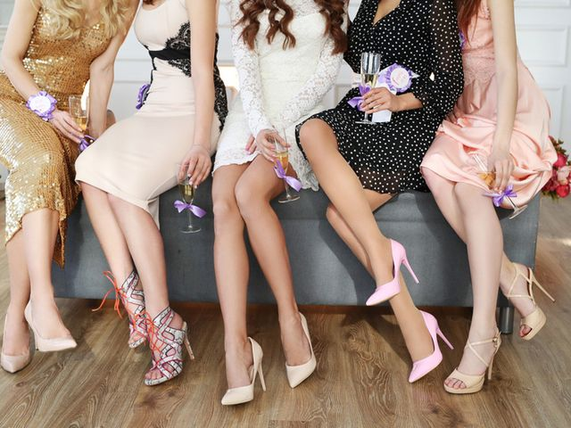 5 Colours That Are Off Limits for Wedding Guest Attire