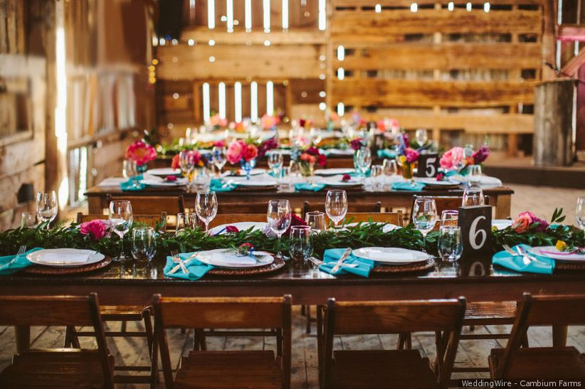 ustic country wedding decorations