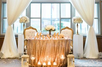 How to Decorate Your Sweetheart Table