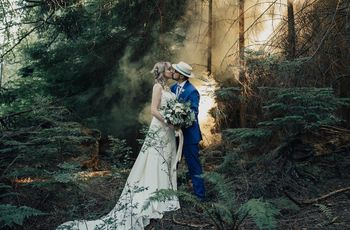 18 Awesome Forest Wedding Ideas