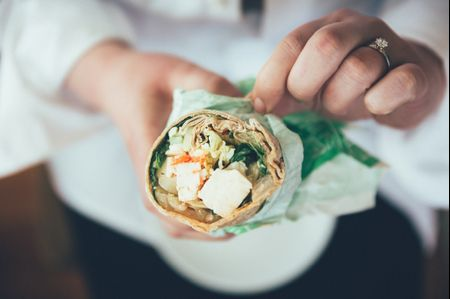 """10 Ways to Fight Being """"Hangry"""" on Your Wedding Day"""