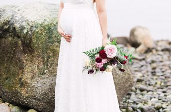 Your Essential Pregnant Wedding Dress Shopping Guide