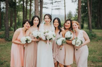 How to Build Your Bridesmaids' Looks