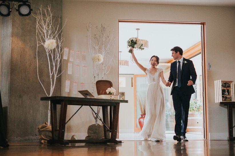Wedding reception entrance song