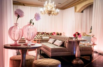 How to Create Your Wedding Lounge Area