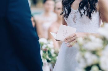 Wedding Vows 101 – What You Need to Know About Your Vows