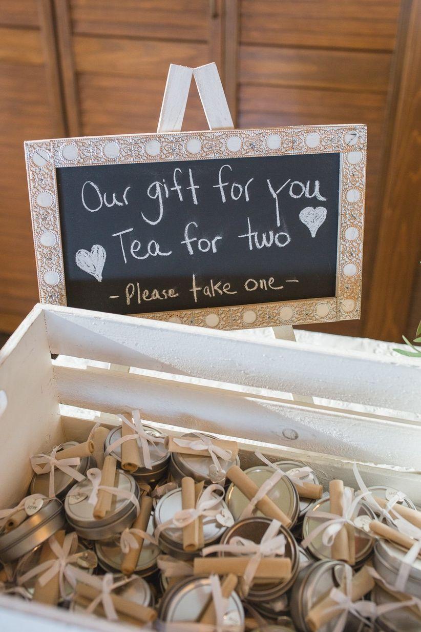 Wedding Favour Signage
