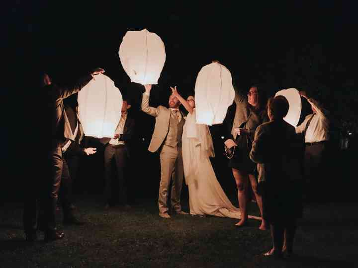 What is a Sky Lantern Ceremony?